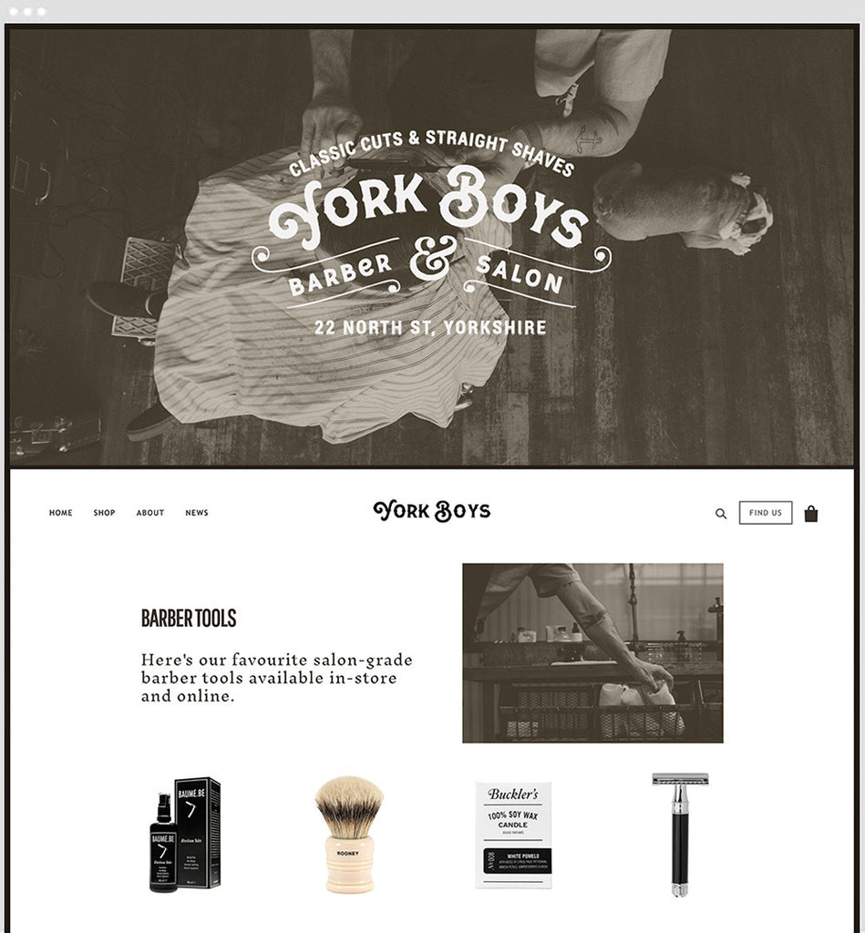 Local Shopify Theme