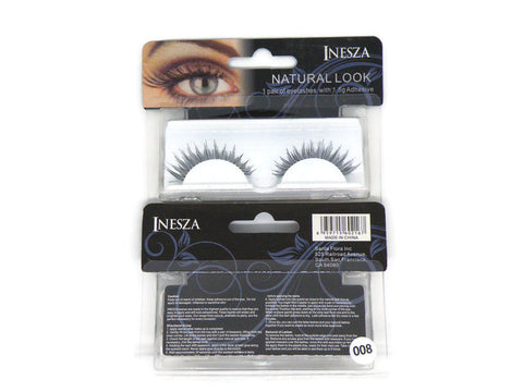INESZA False Eyelashes Style #008 - ARK Industry Store