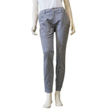 ELLEN TRACY Denim Skinny Velvet Womens Jeans Pants (Gargoyle Grey) - ARK Industry Store