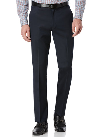 Perry Ellis Men's Portfolio Solid Slim Fit Stretch Dress Pants Travel LUXE Tech - ARK Industry Store