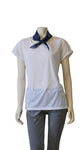 Almost Famous Women's Cap Sleeve Tee Shirt w/ Cami Dress Top Blouse Scarf - ARK Industry Store