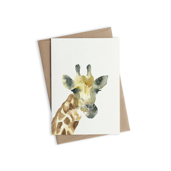 Greeting Card - Jeremy the Giraffe
