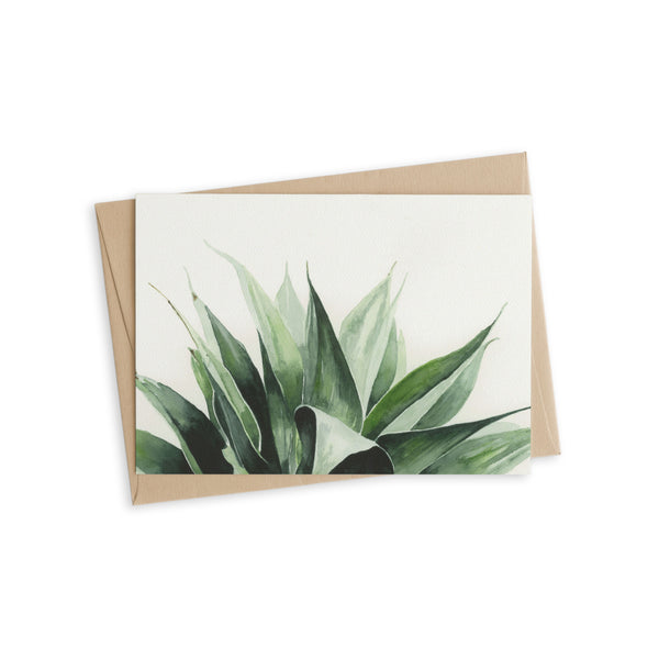 Greeting Card - Agave