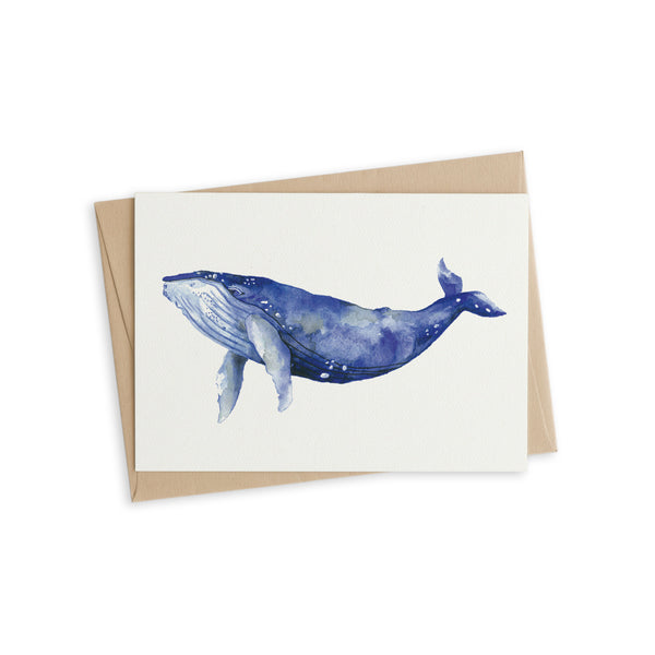 Greeting Card - Bally the whale