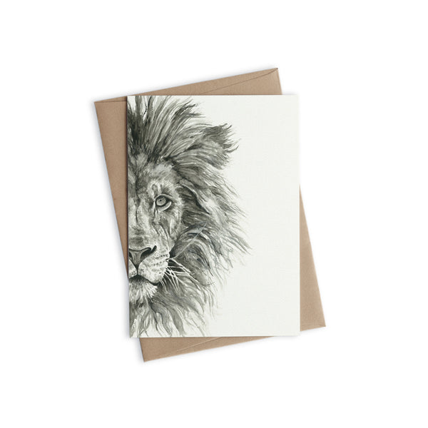 Greeting Card - Cecile the Lion