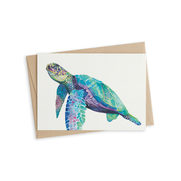 Greeting Card - Finn the Turtle