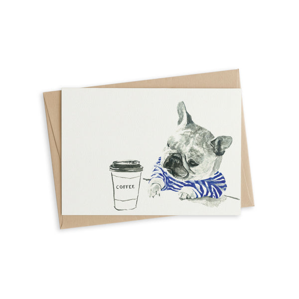 Greeting Card - Monday