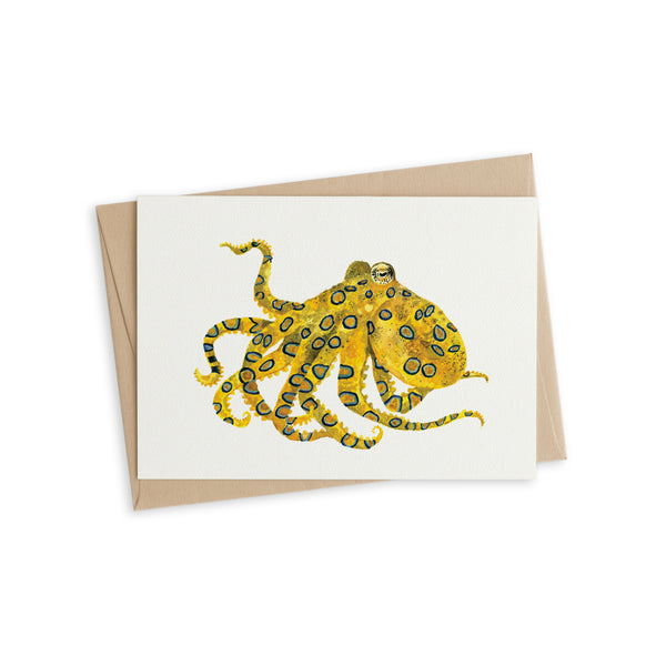 Greeting Card - Octavia the Octopus