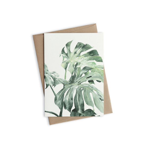 Greeting Card - Urban Botanic