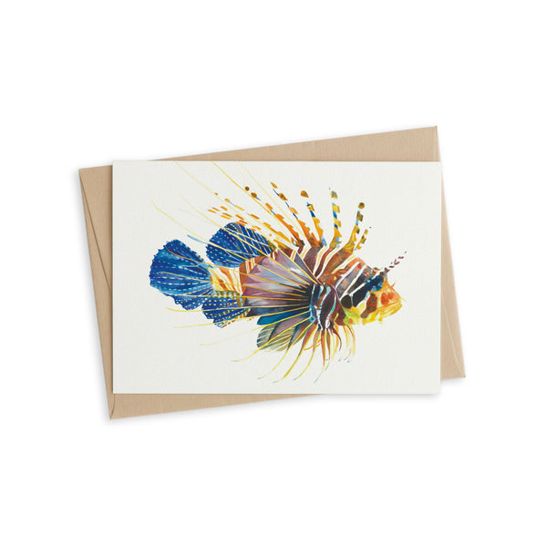 Greeting Card - Lionfish