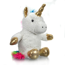 Load image into Gallery viewer, Star + Rose Microwave Bed Warmer Warmies Heat Pack - Unicorn Cuddle Up