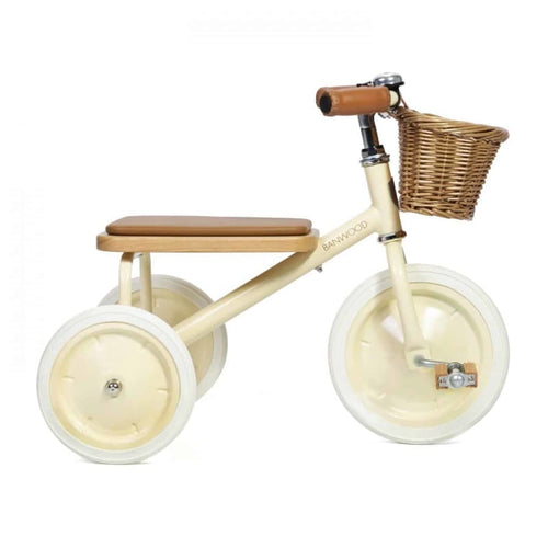 Banwood Trike - Cream - Fast shipping Dreamy Kidz -