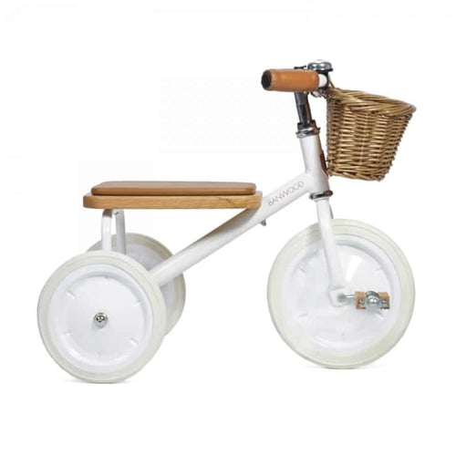 Banwood Trike - White - Fast shipping Dreamy Kidz -