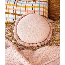 Load image into Gallery viewer, Blush Pom Cushion - Closely Knit Fast shipping Dreamy Kidz -