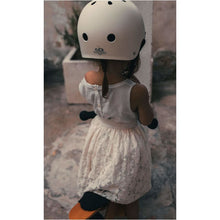 Load image into Gallery viewer, Kinderfeets - Toddler Bike Helmet | White - Fast shipping