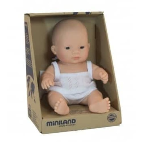 MINILAND Anatomically Correct Baby Doll - Asian Boy 21cm -