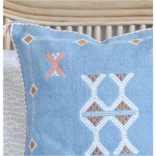 Load image into Gallery viewer, Nomadic Cushion - Azure - Closely Knit Fast shipping Dreamy