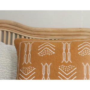 Nomadic Cushion - Mustard - Closely Knit Fast shipping