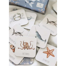Load image into Gallery viewer, Ocean Memory Card Game - Modern Monty Fast shipping Dreamy