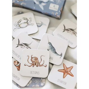 Ocean Memory Card Game - Modern Monty Fast shipping Dreamy