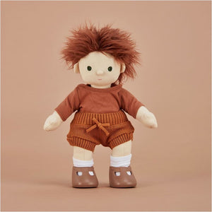 Olli Ella - Dinkum Doll Snuggly Set - Toffee - Fast shipping