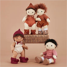 Load image into Gallery viewer, Olli Ella - Dinkum Doll Snuggly Set - Toffee - Fast shipping