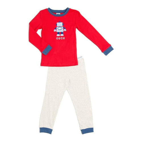 OUCH Winter Pyjamas - Robot (Size 3) - Fast shipping Dreamy