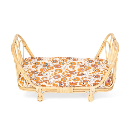 Poppie Toys | Dolls Daybed - Flowers - Fast shipping Dreamy