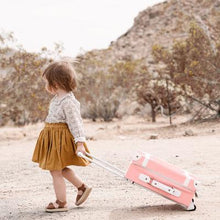 Load image into Gallery viewer, Olli Ella See-ya Suitcase - Rose