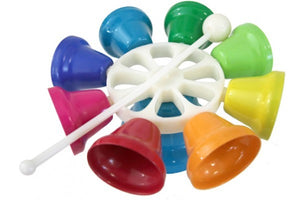 Rainbow Musical Spinning Bells