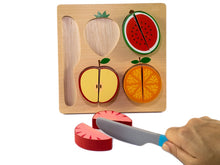 Load image into Gallery viewer, Fruit Slicing Chunky Puzzle