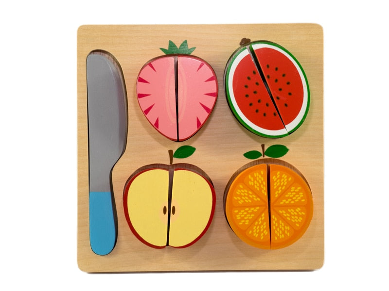 Fruit Slicing Chunky Puzzle