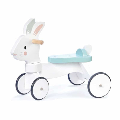 Running Rabbit Wooden Ride On - Tender Leaf Toys Fast