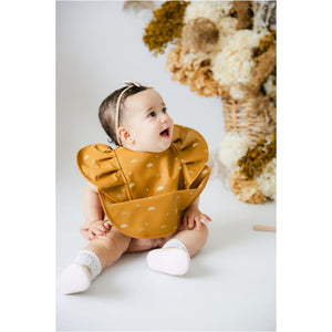 Snuggle Bib Waterproof - Sunrise Frill | Hunny Kids - Fast