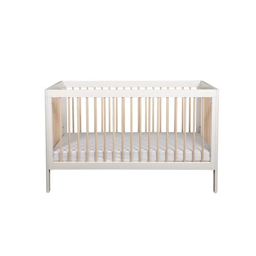 Troll Lukas Cot - Soft Grey/White Wash - White with
