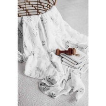 Load image into Gallery viewer, Wild Fern | Organic Muslin Wrap | Snuggle Hunny Kids - Fast