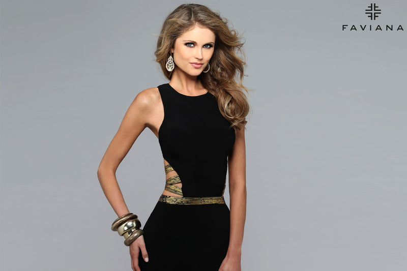 faviana dress 7734
