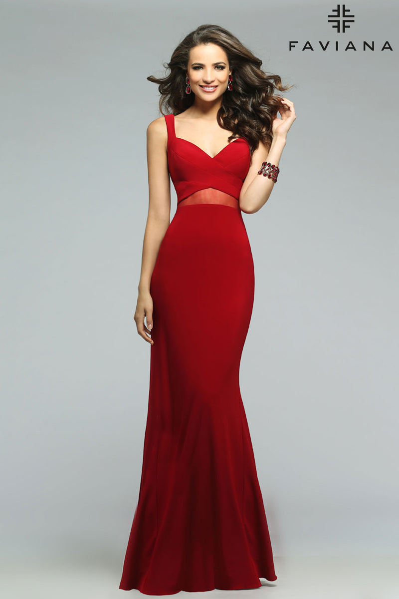 faviana 7744 dress