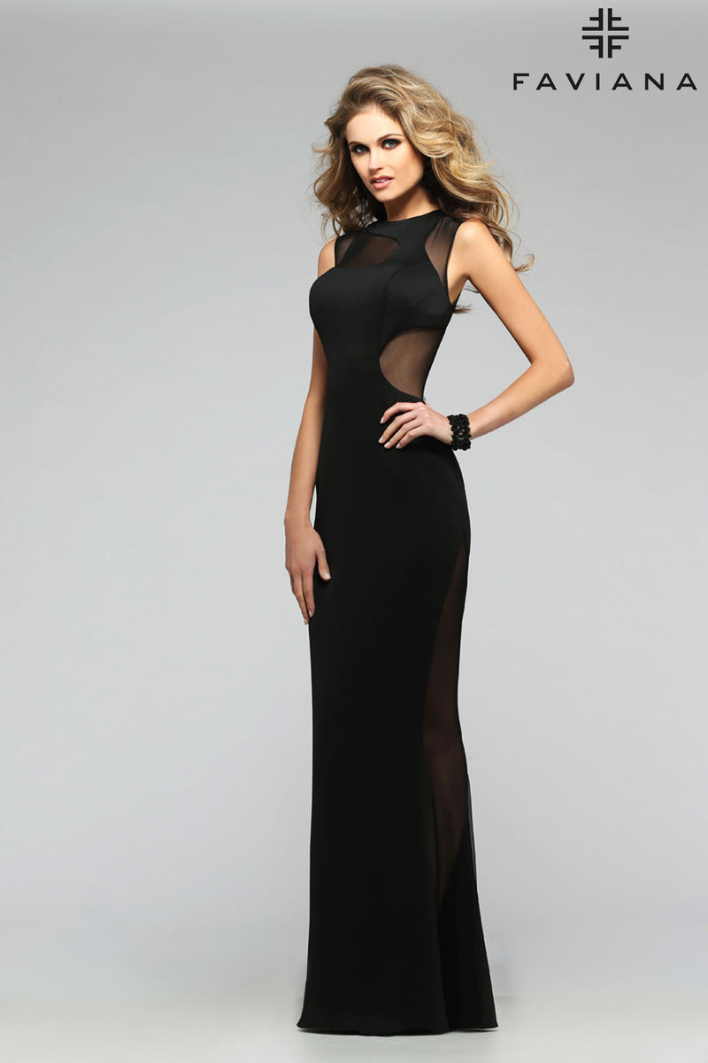 faviana dress 7791