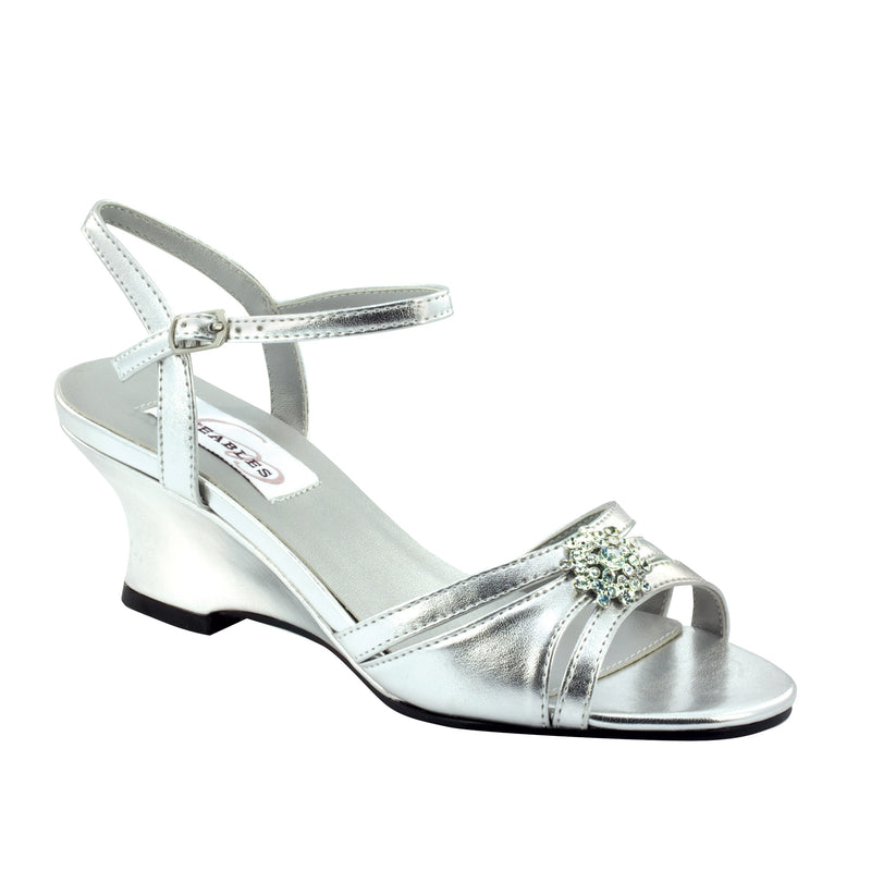 Dyeable cassie silver metallic 28913