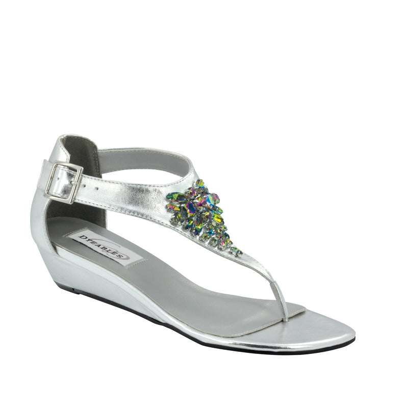 Dyeable cleo silver metallic 29913