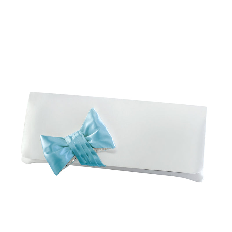 Dyeables HB2023 Women's Clutch Satin DYED Blue