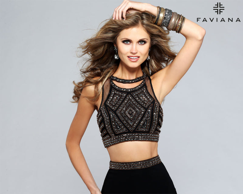 faviana dress S7706