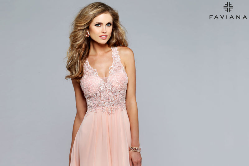 faviana dress S7712