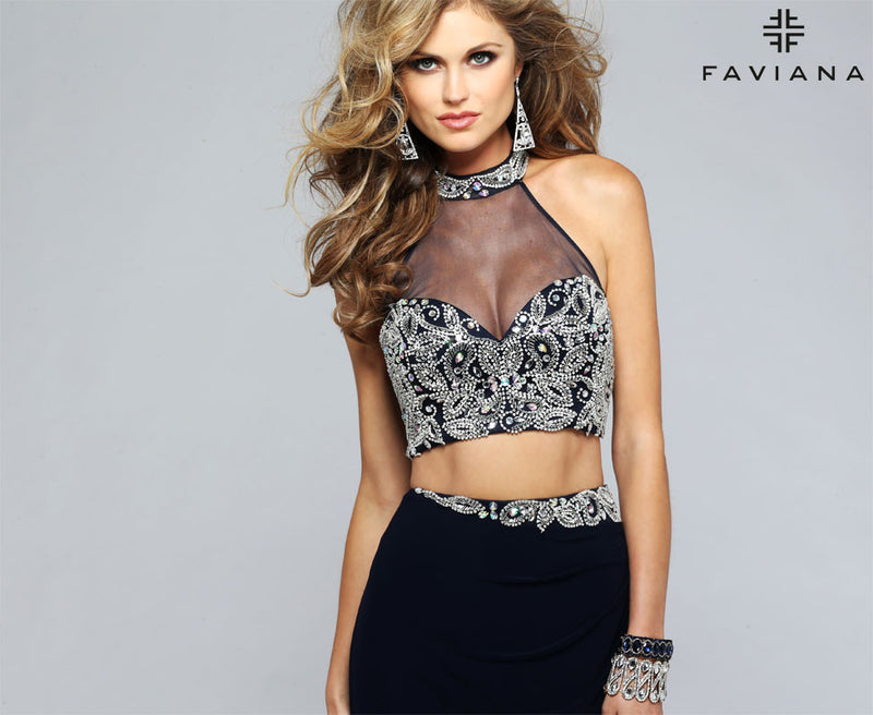 faviana dress S7808