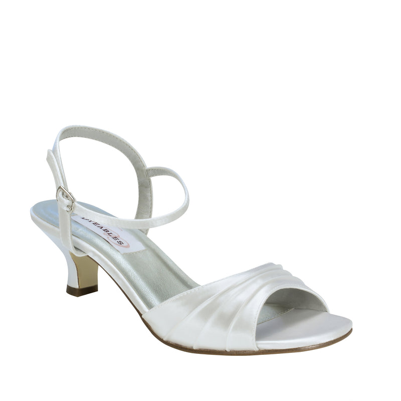 dyeable brielle white satin 11610