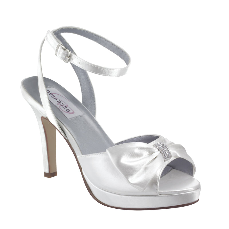 Dyeable brit white satin 20712