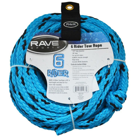 6 Rider Tow Rope