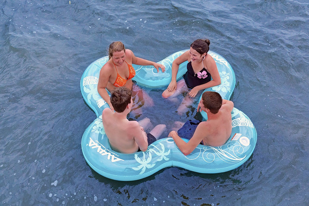 Lucky Lounge (4 Person) Pool/Lake Float