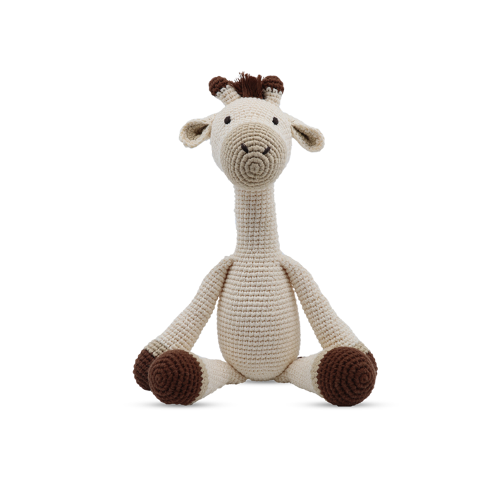 Medium Sitting Toy - Giraffe